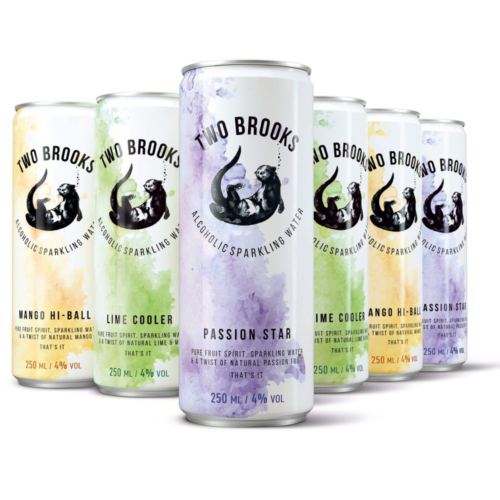 Two Brooks Alcoholic Sparkling Water